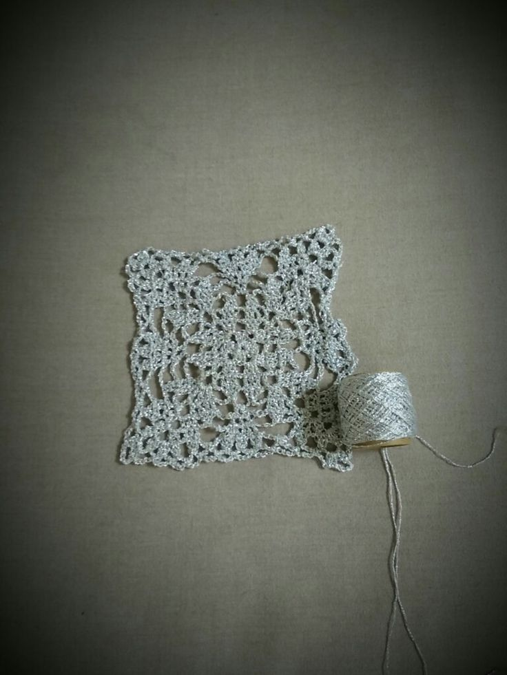 First granny of something special #silver#granny#crochet