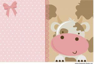 Kit Festa Fazendinha Rosa Convite GRÁTIS - Em PDF pronto para editar e imprimir. Confira o kit completo http://fazendo-festa.net/kit-festa-infantil-gratuitos/kit-festa-fazendinha-rosa-pronto-para-editar-e-imprimir-gratis/