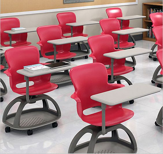 Ethos Series Mobile Chair Desk
