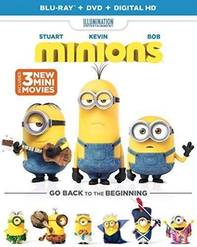 Minions (Blu-ray  DVD  DIGITAL HD)