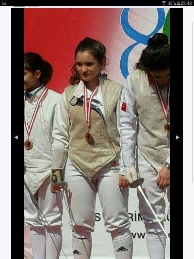 Berna Ertenli TED Gençlik Kupası Bronz Madalya