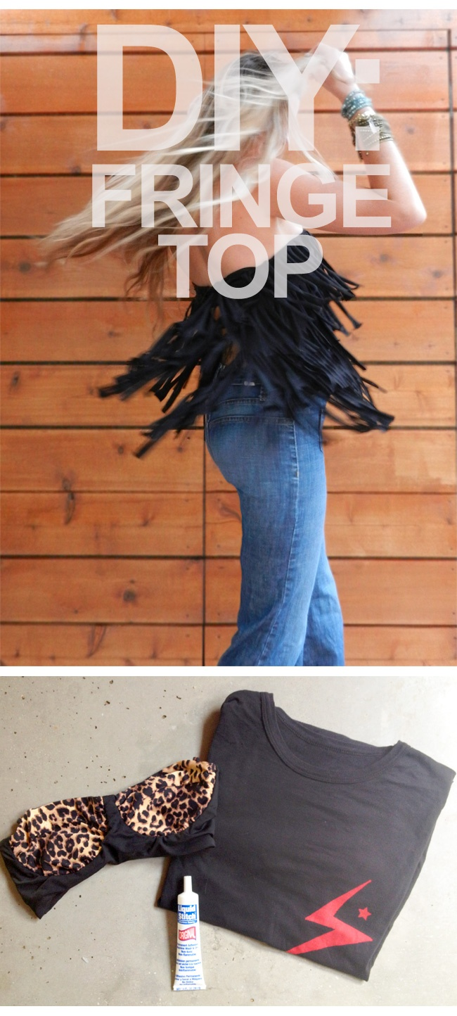 DIY Fringe Top perfect for all the upcoming festivals