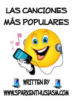 This unit includes 20 different songs with Spanish song lyrics along with cloze activities from recent popular artists. Also included are links to find the videos and tips on how to incorporate music in the classroom! This unit is a great way to practice pronunciation, teach different grammar and vocabulary topics and excite students about Hispanic culture and Spanish music and artists.