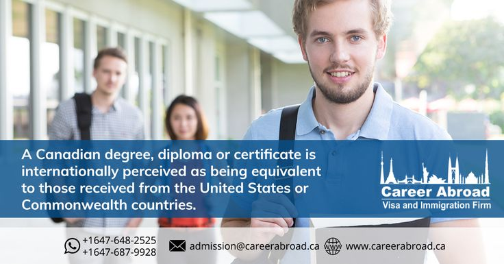 Advantage #Canada! This is the biggest perk of studying in #Canada  For #admission #studentvisa assistance to #studyinCanada