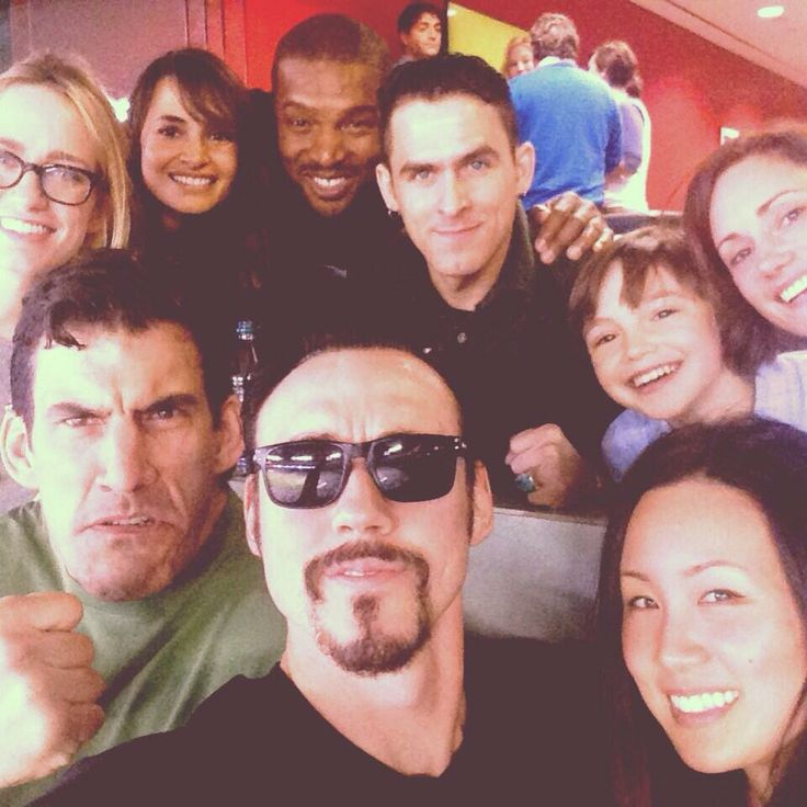 The Strain Cast Selfie Robert Maillet, Ben Hyland