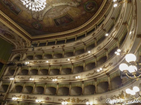 A Walk Around Cesena, Cesena, Teatro Bonci, @Cameron Daigle Daigle Smith of a Carry-on 2013 #buonvivere blog tour