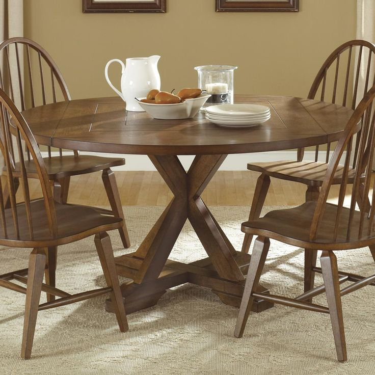 Hearthstone Drop Leaf Pedestal Table By Liberty Furniture Wolf Furniture Liberty Furniture Pedestal Dining Table Round Dining Room Sets