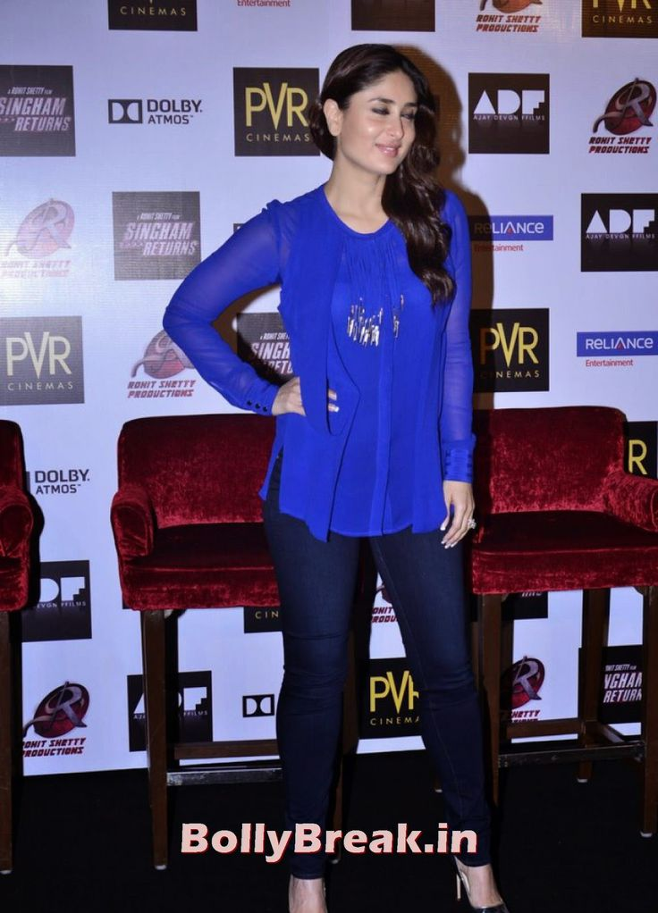 Kareena Kapoor Pics in Blue - Movie Singham Returns Merchandise Launch - Singham Returns Merchandise Launch , #kareenakapoor #ajaydevgan #rohitshetty #singhammovie #bollybreak #bollywood #india #indian #mumbai #fashion #style #bollywoodfashion #bollywoodmakeup #bollywoodstyle #bollywoodactress #bollywoodhair