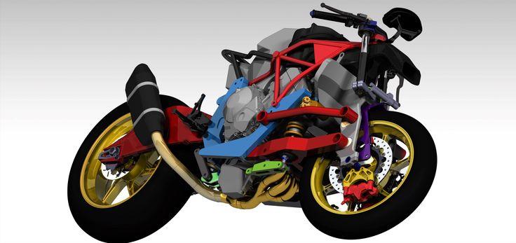 Innovador chasis de competición