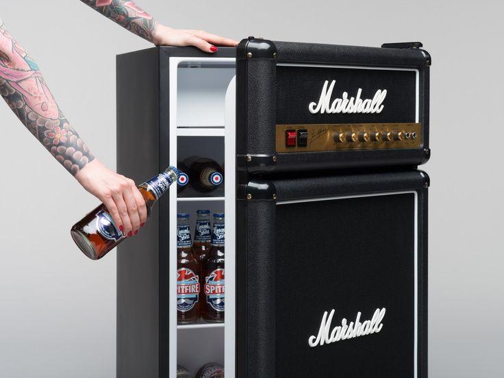Der Marshall Mini Kühlschrank | Sich im Office wie ein Rockstar fühlen ist so simpel | Atomlabor Blog | Dein Lifestyle Blog aus Wuppertal