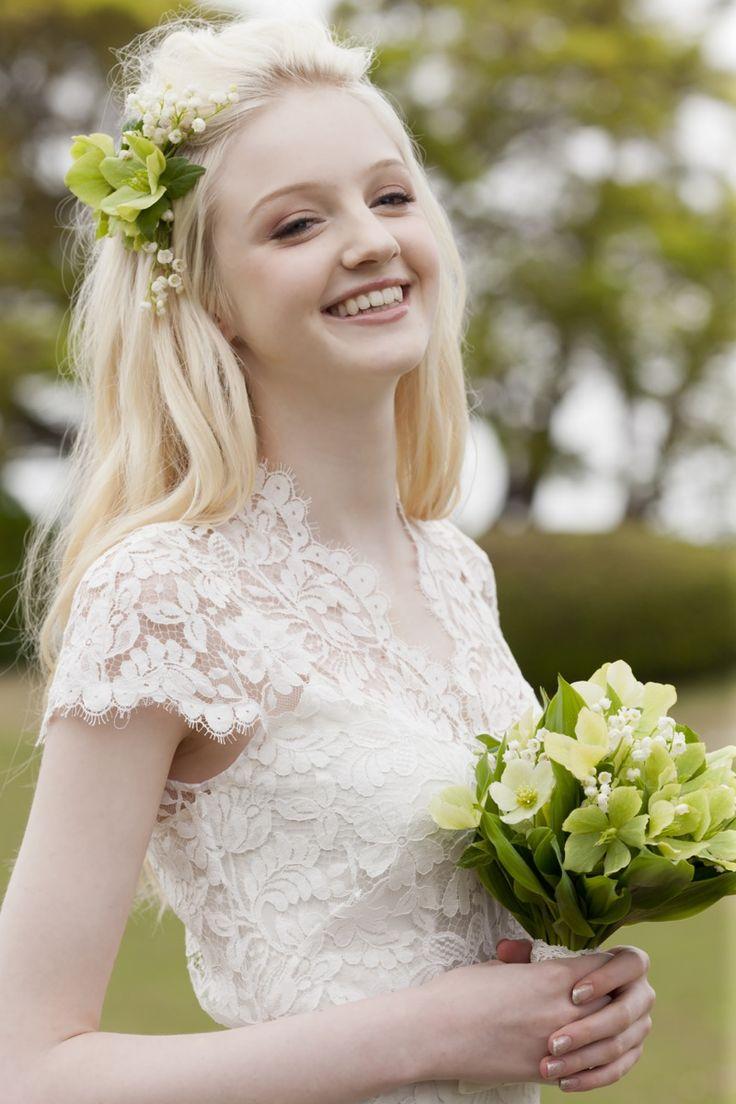 Amoret  #NOVARESE #weddingdress #lace #TemperleyLondon #LONDON