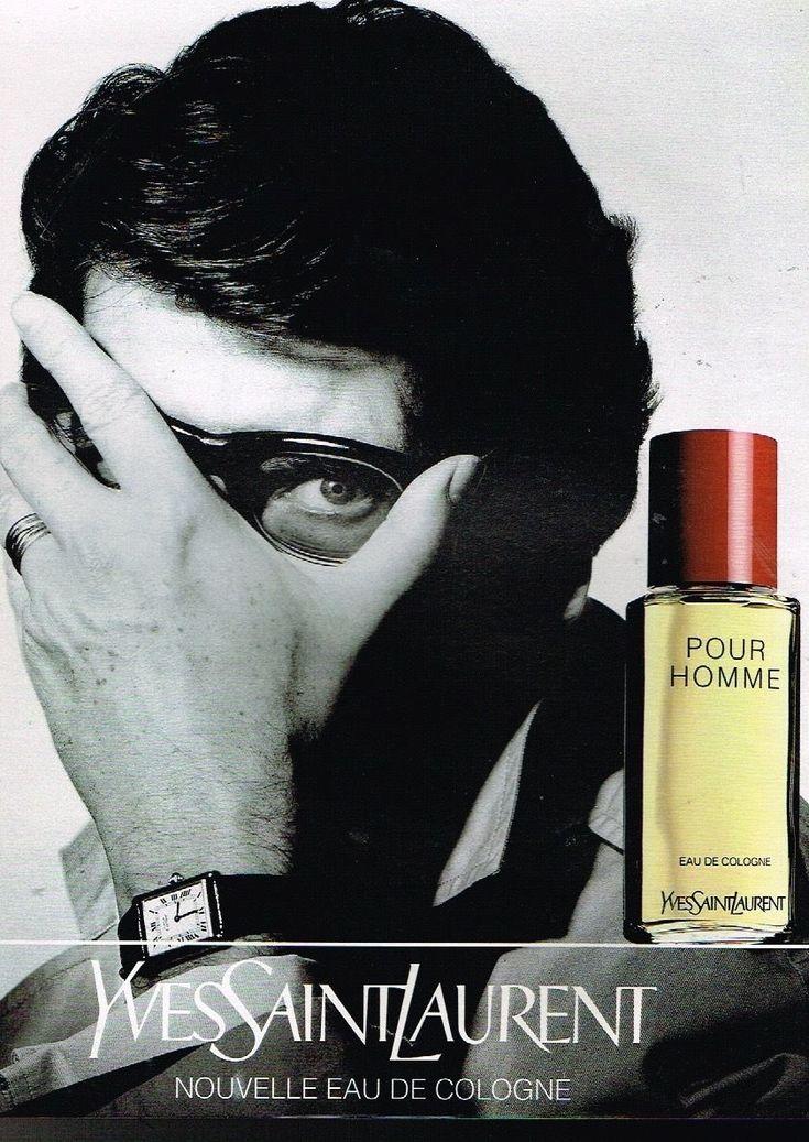 Publicité advertising 1994 Eau de Cologne Yves Saint Laurent