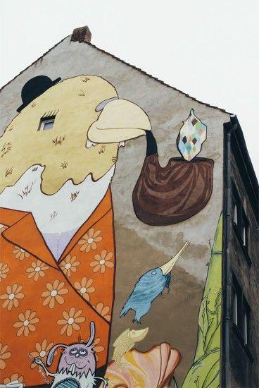 Street-Art, Linden   25h in Hannover, Stilnomaden