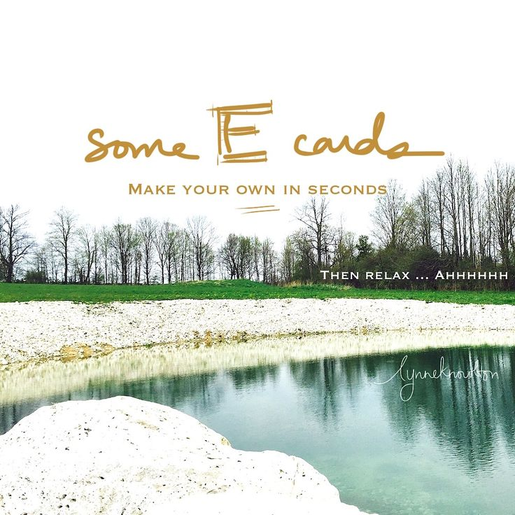 How to make your own Ecards in seconds. HILARE.