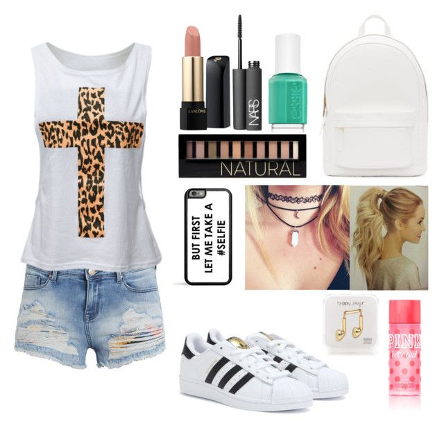 """""""Pretty but comfy for back to school """" by shogarth on Polyvore"""
