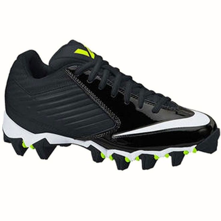 Youth 159118: Nike Vapor Shark 643161-010 Youth Football Cleats [151B] -> BUY IT NOW ONLY: $31.49 on eBay!