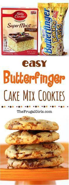 Butterfinger Cookies Recipe! | The Frugal Girls | Bloglovin'