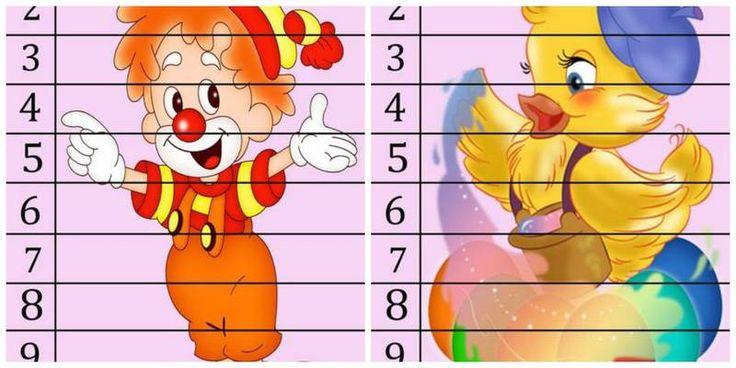 Распечатайте эти забавные шаблоны, разрежьте их по линиям и получите хорошее учебное пособие для изучения цифр во время игры.