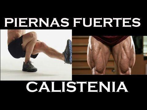PIERNAS FUERTES con CALISTENIA. RUTINA con peso corporal - YouTube