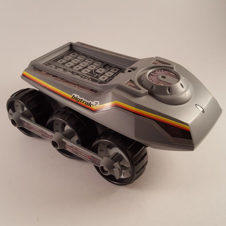 Dubreq BigTrak Jr. Programmable Robot Rover US Version Gray  FREE SHIPPING! #Dubreq
