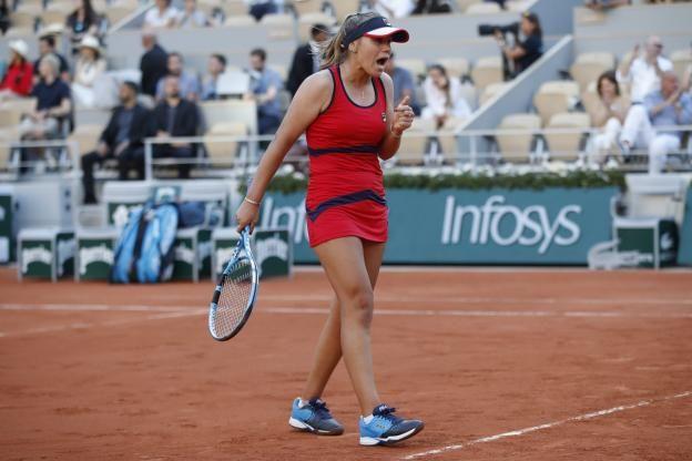 Cinq Choses A Savoir Sur Sofia Kenin Qualifiee Pour Les Quarts De Finale De L Open D Australie Open D Australie F
