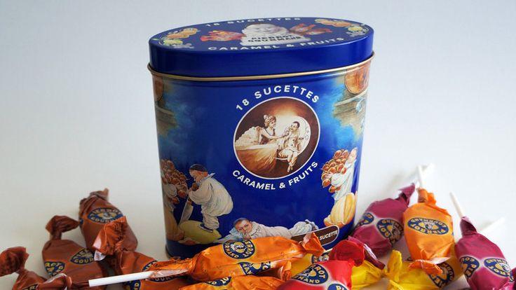 Ger'son Pierrot Gourmand: Retour de la boîte métal des sucettes Pierrot Gourmand