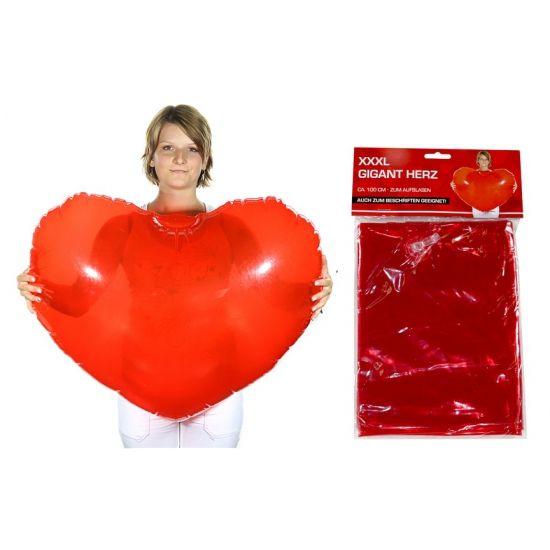 Opblaasbare harten 100 cm bij Fun-en-Feest.nl. Online Hartjes versiering bestellen, levering uit voorraad. Opblaasbare harten 100 cm voor � 4.95.