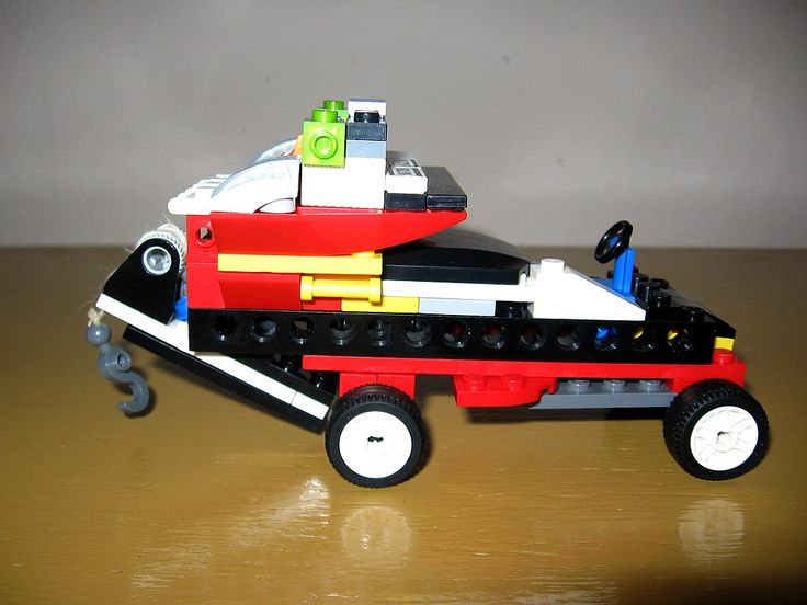 creation from LEGO building kit