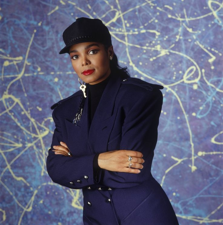 Janet Jackson, 1989 by Michael Grecco