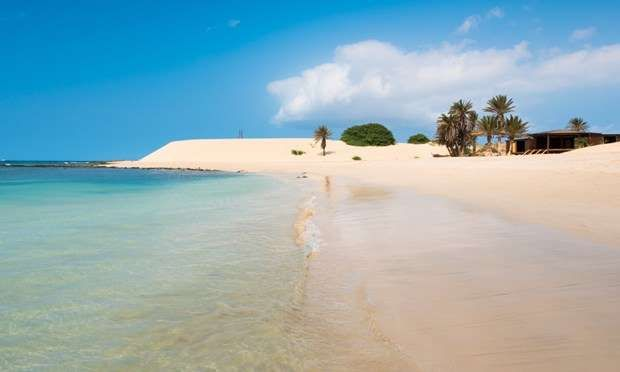 Boavista, Cape Verde- Ten volcanic islands make up Cape Verde – but most tourists see only one of them. Sal has an international airport and an awful lot of sand; the windsurfing's good too. But there's more to this Atlantic archipelago, lurking 354 mi (570 km) west of Senegal.