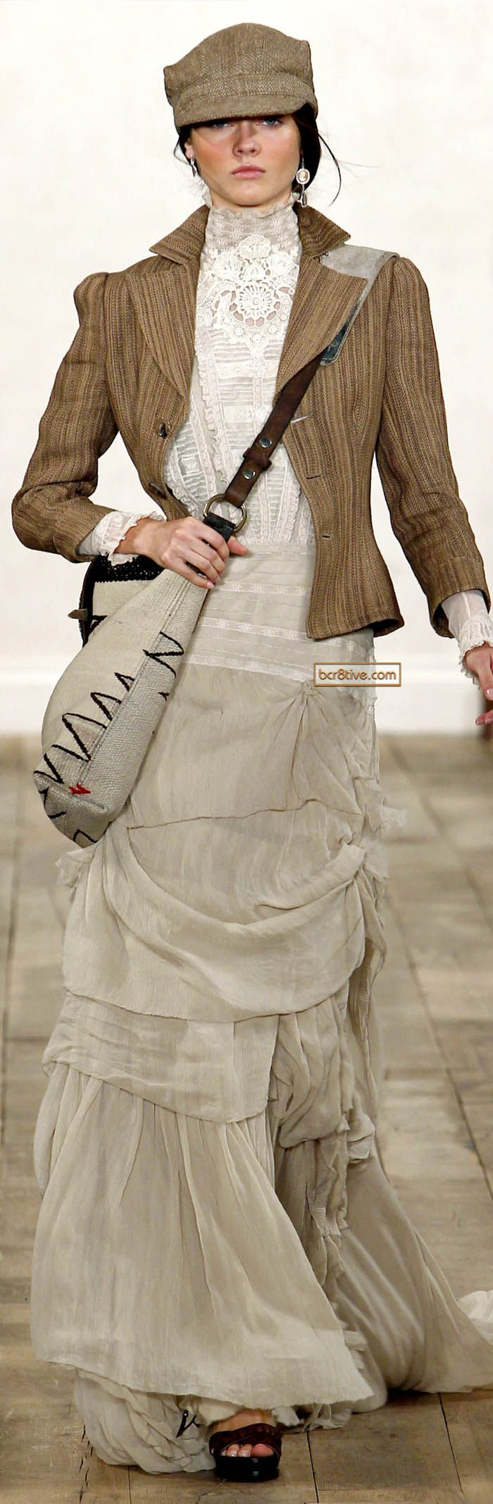 Ralph Lauren SS 2011  I love this outfit....but minus the hat and purse!
