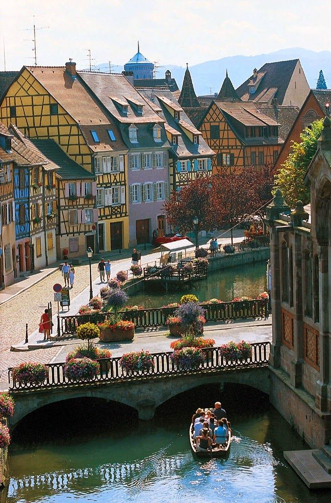 Been there! Done that! Sailing along the storybook village of Colmar in Alsace