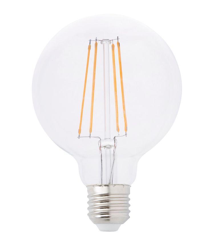 bombilla decorativa filamento led globo de w rosca grande bombillas led filamento decorativas lmparas