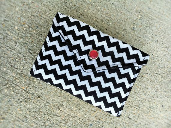 34 best business card cases business card holder gift card holder business card holder card case gift card holder gift for coworker black and white chevron reheart Images