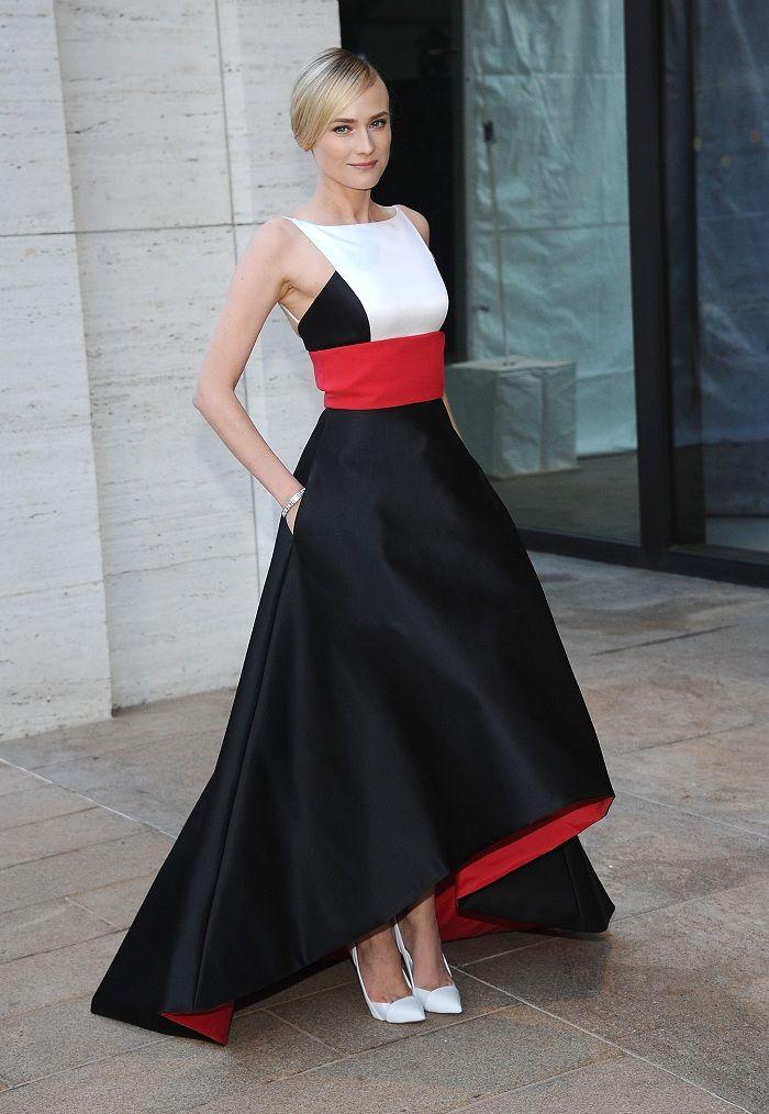 Образ дня: Диана Крюгер в Prabal Gurung - Мода - Look | Vogue Ukraine