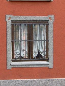 Trompe l 39 oeil esterno finestra cerca con google trompe - Quadro finestra ...