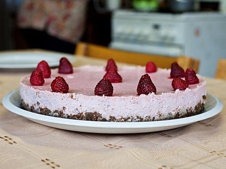 Tvarohový malinový dort - Testováno na dětech