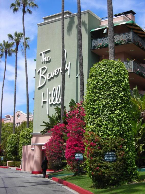 The Beverly Hills Hotel By far the most glamorous hotel I've ever been too - - it's heaven!