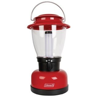 Coleman's classic design has had a performance upgrade XL size and super powerful LED performance!  - CPX Compatible rechargeable or battery operated, you chose  - Super bright 700 lumens of light output   - Handle allows lantern to hang or attach to multiple points  - Two modes- High/Low  - Batteries not included, recharge battery pack sold separately  - 80h run time on low setting   - 14m beam  - Weight: 950g  - Size: 19 x 33cm