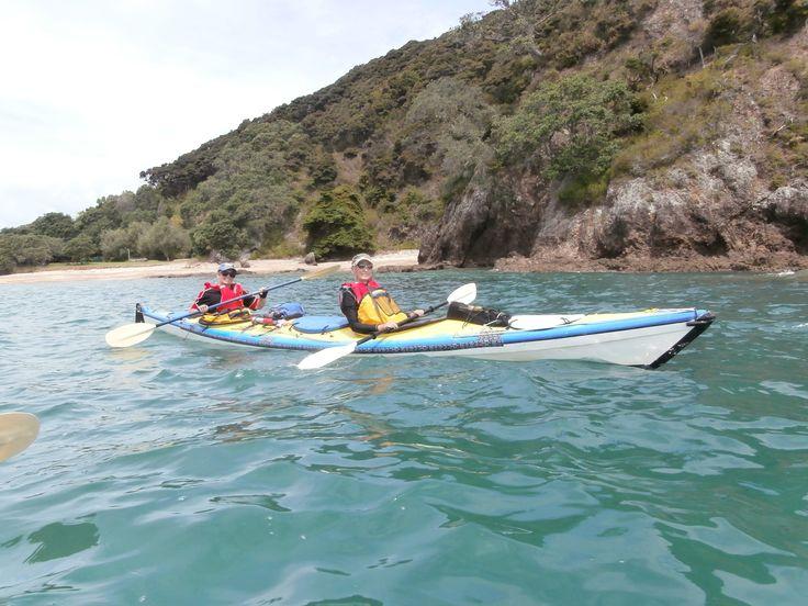 Sea kayaking in glorious bay of Islands