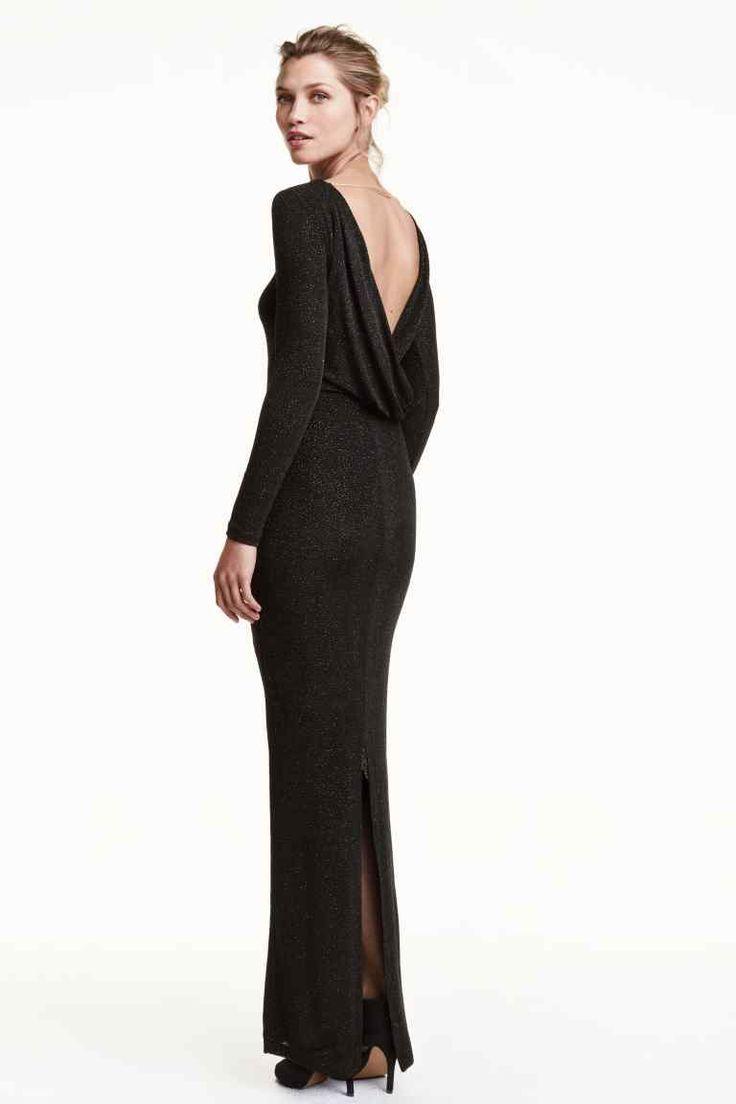 robes l gantes france robe longue mousseline h m. Black Bedroom Furniture Sets. Home Design Ideas