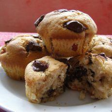 Muffiny s višněmi a čokoládou