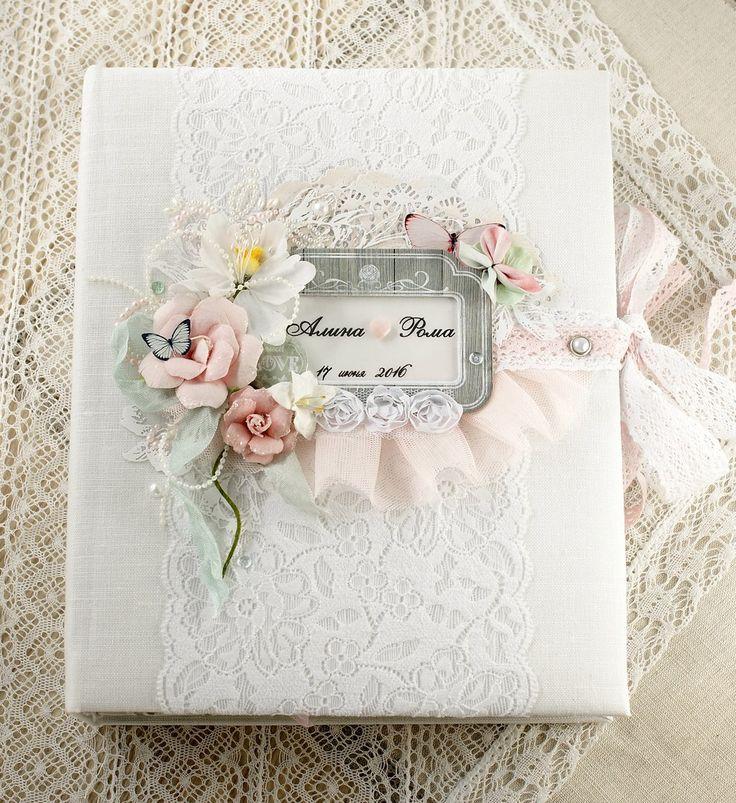 Нежнейший свадебный альбом.
