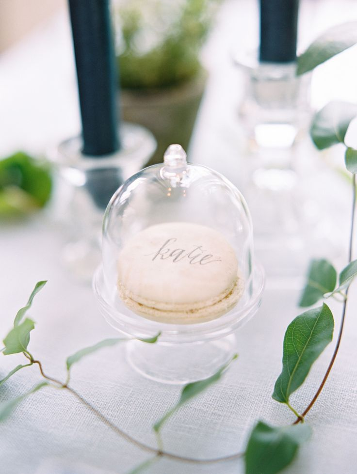 place setting dessert in a glass jar | Photography: Ryan Ray
