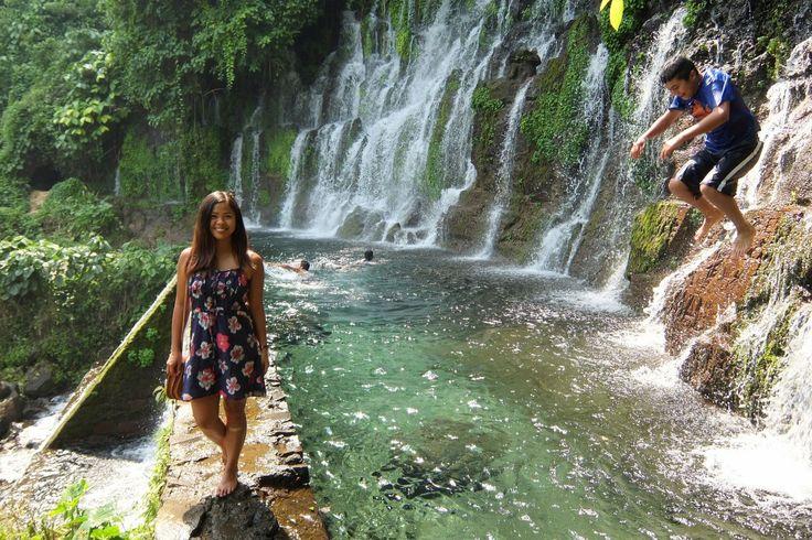 Ruta de las Flores El Salvador - Route of Flowers - Coffee Towns - Juayua Chorros de la Calera Waterfall