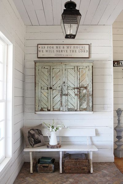From Fixer Upper with Chip and Joanna Gaines...my new favorite show on HGTV