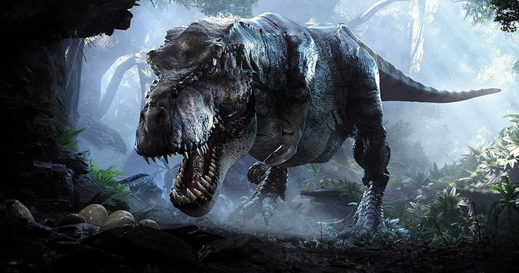Jurassic World 2 Set Photo Reveals New Dinosaur -- Producer Frank Marshall shares an image from the set while announcing that production on Jurassic World 2 is half-way over. -- http://movieweb.com/jurassic-world-2-new-dinosaur-metriacanthosaurus/