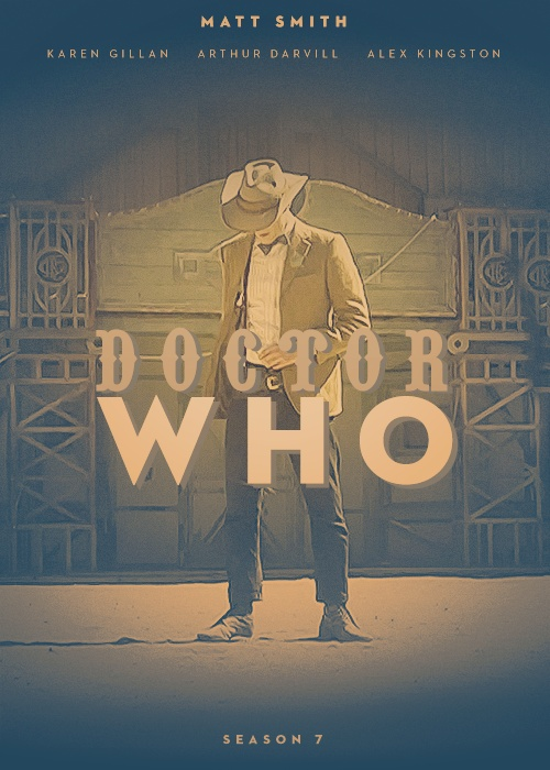 Awesome fan made Doctor Who Season 7 poster: Cowboys Hats, Town Call, Doctorwho, Matte Smith, Call Mercy, Doctors Who Seasons 7, Dr. Who, Westerns Style, Fans Poster