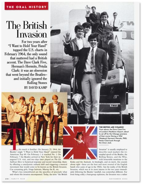 An Oral History of the British Invasion | Vanity Fair