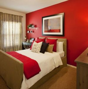 astounding red bedroom walls will | Pin on Accent Walls